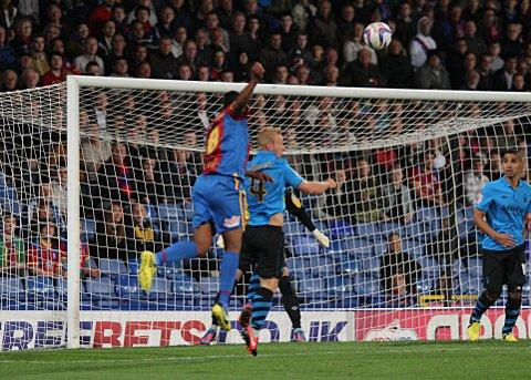 Wimbledon Guardian: Kagisho Dikgacoi's looping header puts Palace in front