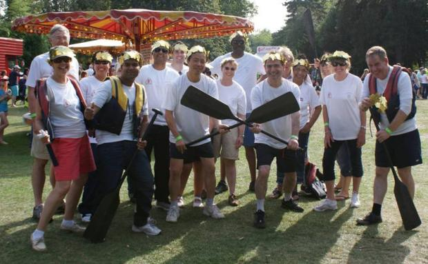 St Helier Hospital staff raise thousands after Chinese dragon boat race