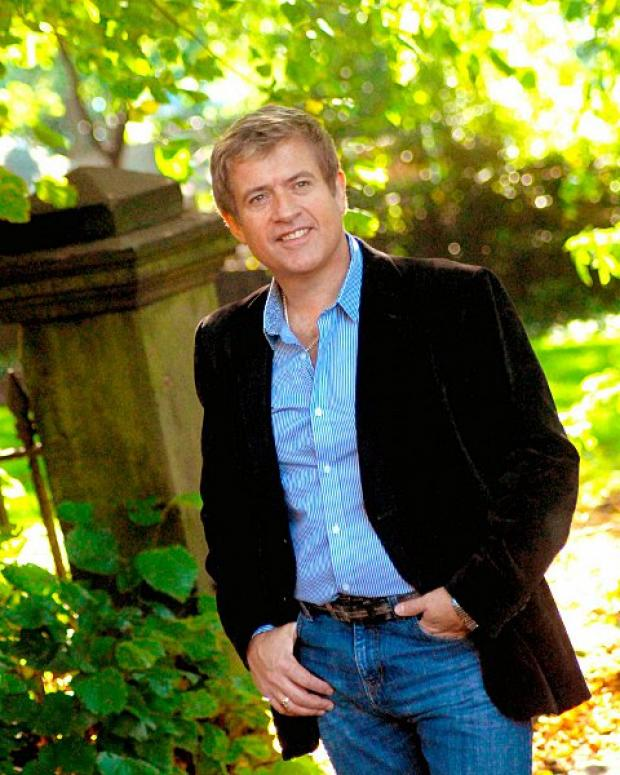 Dominic Kirwan will be performing at the Epsom Playhouse on October 18