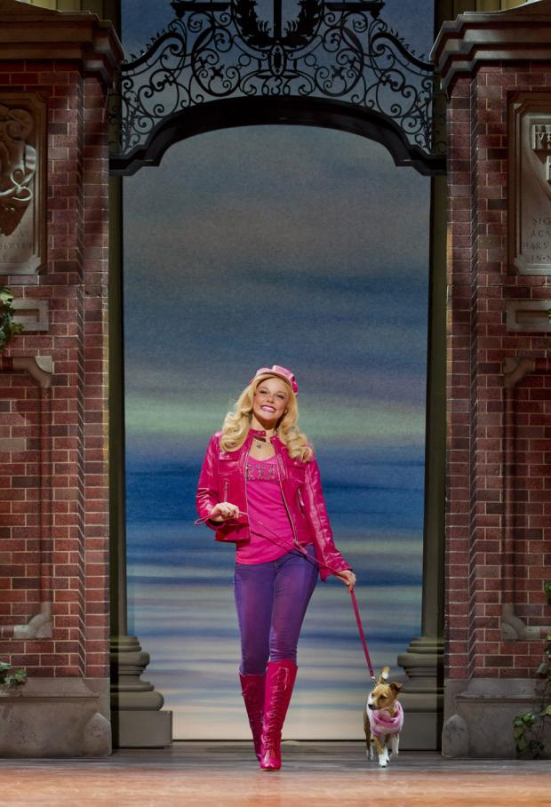 Legally Blonde The Musical is currently at the New Wimbledon Theatre