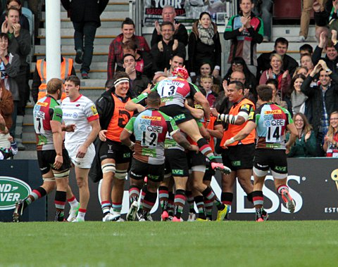 Quins chief O'Shea philosphical over Sarries defeat