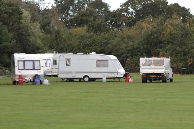 Wimbledon Guardian: A convoy of caravans and vans first arrived at Cannon Hill Common on Monday, September 3, and have repeatedly returned