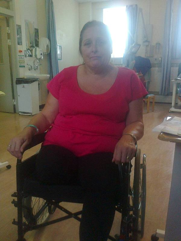 Amputee waits two weeks for hospital transfer