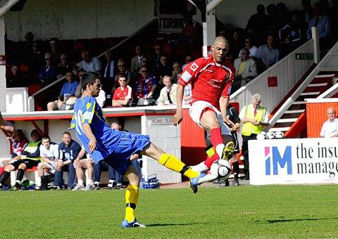 The Robin has flown: Ashley Carew has left Carshalton for Beckenham Town           Simon Hildrew/Newsquest