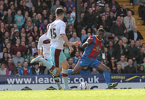 Hot property Zaha at the double as Palace beat Burnley