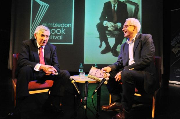Jack Straw makes rare appearance at Wimbledon Bookfest