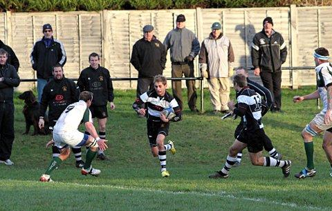 Scorer: Sutton's Charlie Purvis was among the points in the 44-24 win over Dover on Saturday