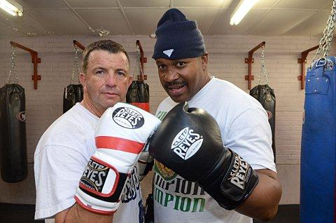 Darren Williams will square up to Tim Witherspoon tonight