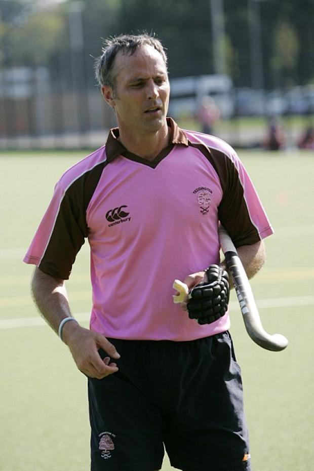 First win: Teddington director of hockey Callum Giles