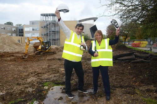 French chef kick starts construction of new catering academy at South Thames College