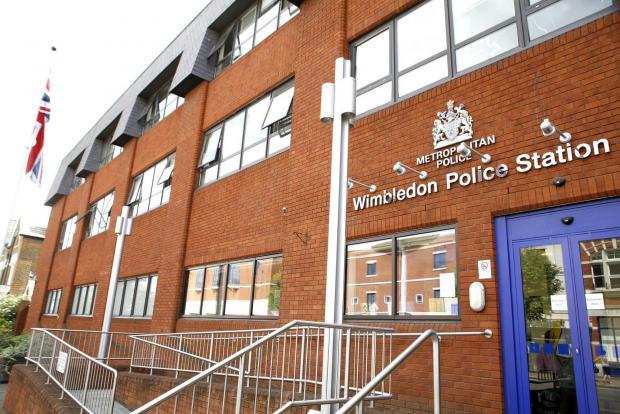 Wimbledon police station, in Queen's Road, Wimbledon town centre
