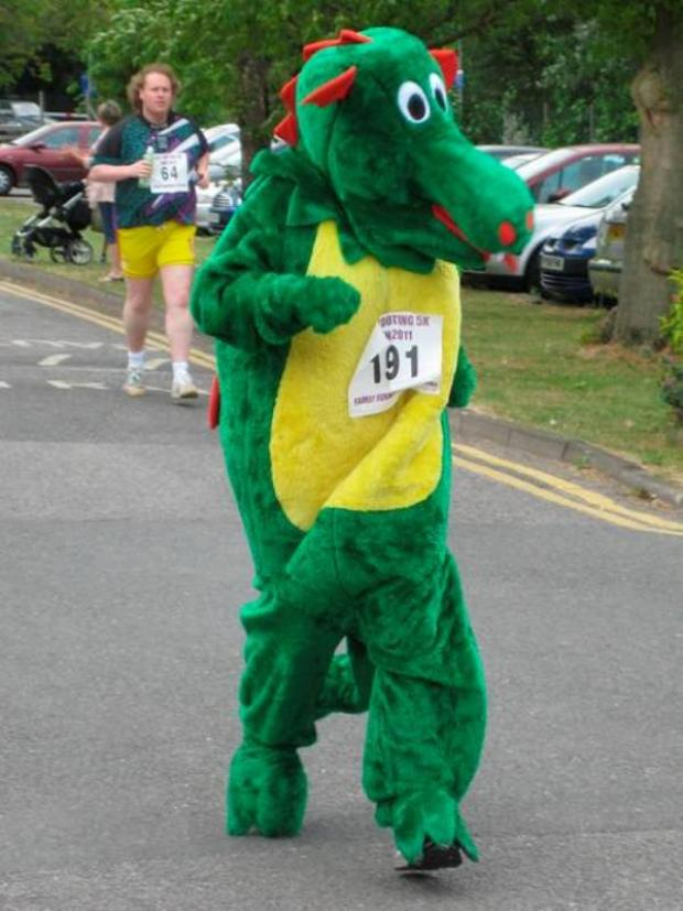 Take part in a frightful fancy dress charity fun run this Halloween
