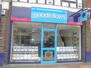 Wimbledon Guardian: Goodfellows estate agent, Morden