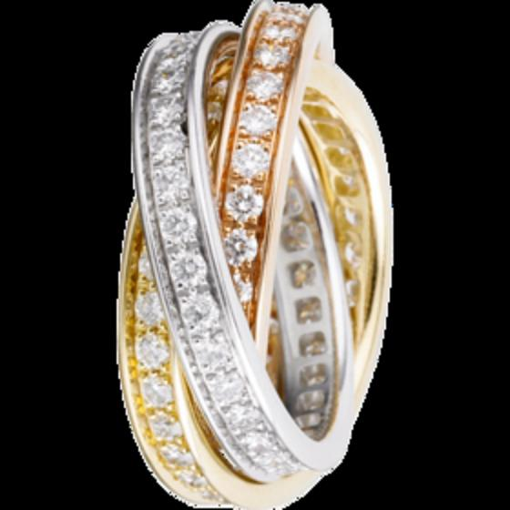 Cartier Russian wedding ring