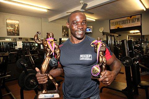 Body builder Christopher Nsubuga crowned Mr Universe