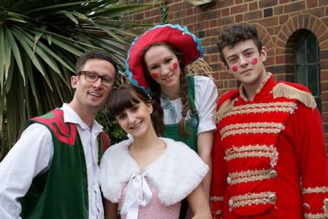 Christmas show for young children in Carshalton