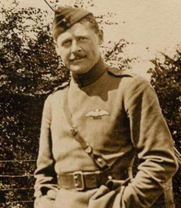 Robert Loraine when serving in the Royal Flying Corps