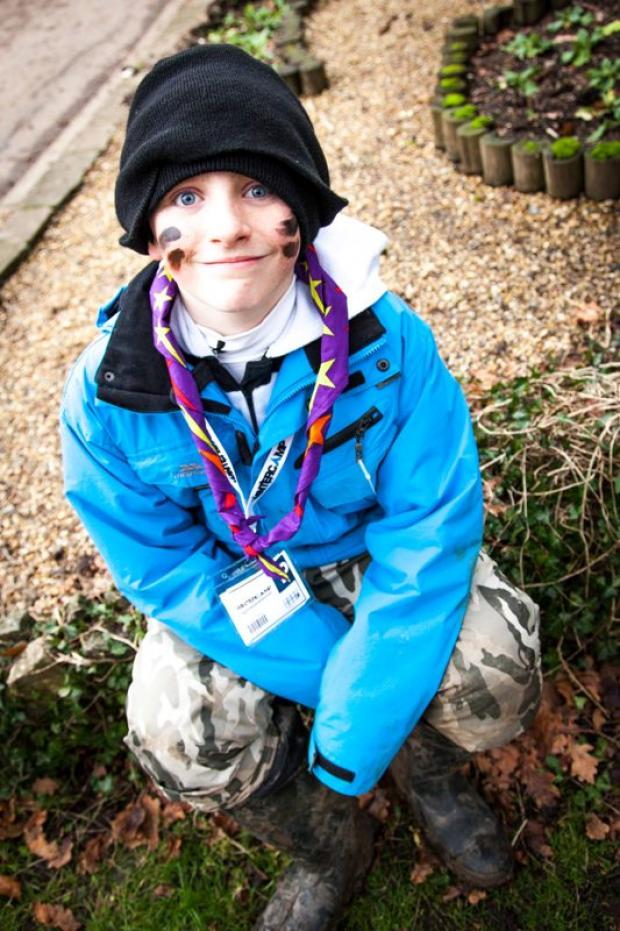 Harry, 14, from the 5th Morden Scouts