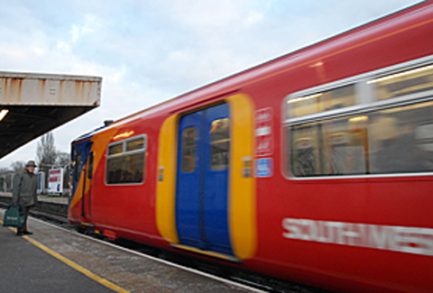 Uniformed patrols and crime prevention advice onboard South West Trains services