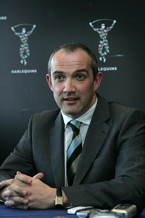 Focused: Director of rugby Conor O'Shea only has eyes for London Welsh - for now