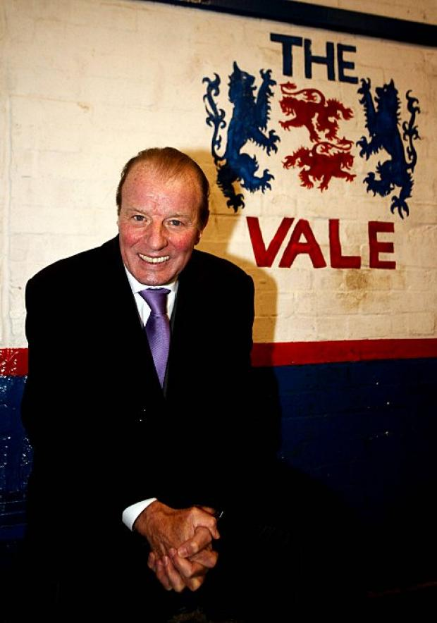 Behind the Vale: Dave Bassett presented Raynes Park Vale with a cheque for £50,000 in December, now they are aiming for more