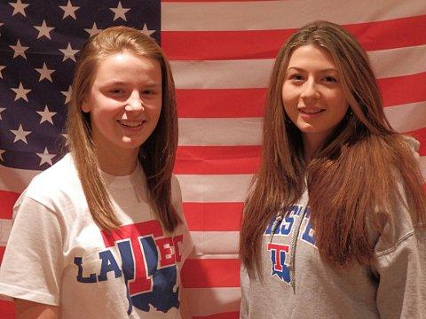 Promising young footballers Annabel Prior and Fern Colepio signed by LA Tech University