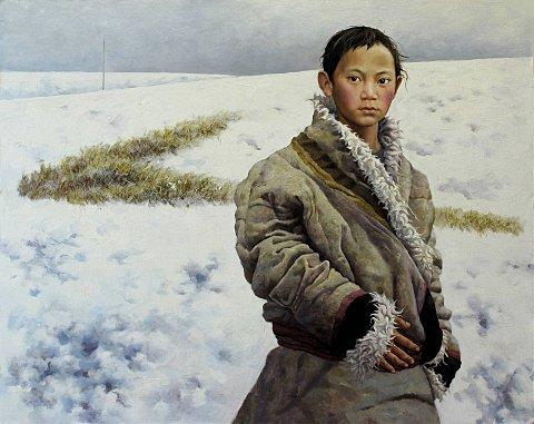 The Boy Came Out of Snow Mountain by Jincheng Liu