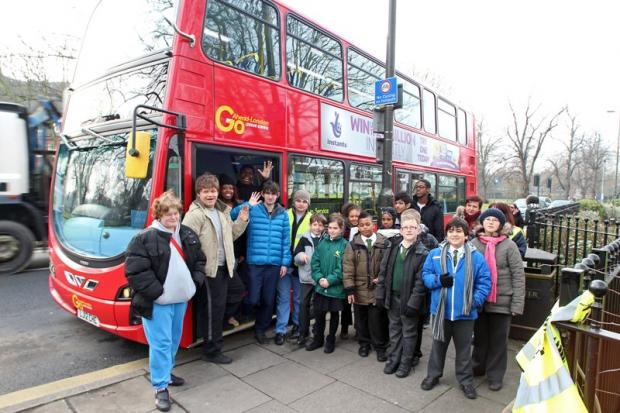 Vulnerable people get transport training by charity