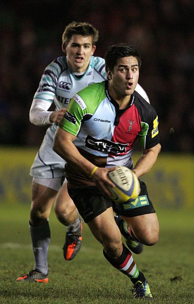 Solid back up: Ben Botica has looked an ideal candidate to full Nick Evans' boots when he hangs them up