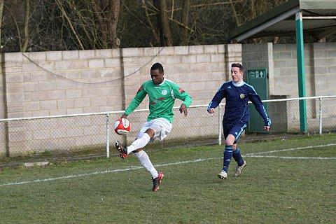 Hat-trick man: Paul Scott hit three in a first-half display of dominance at Sevenoaks    SP72949