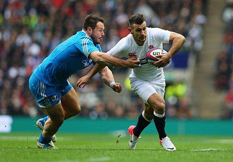 On the move: Danny Care in action on Sunday Picture: Getty Images
