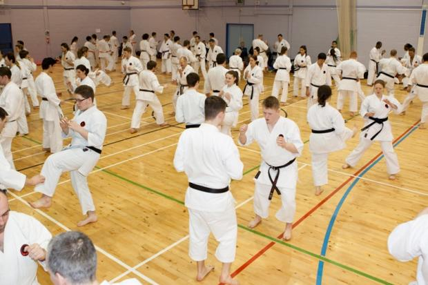 Tetsuji Nakamura led a three day training session at Harris Academy Morden.
