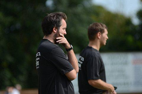 Contemplation: Tanners boss Richard Brady says the next two home games are crucial to their promotion ambitions     SP68715