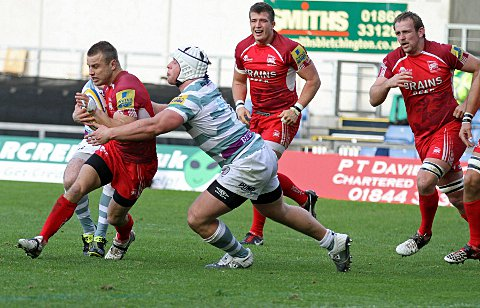Wimbledon Guardian: Unwitting: Tyson Keats played 10 games for London Welsh    Picture: Martin John