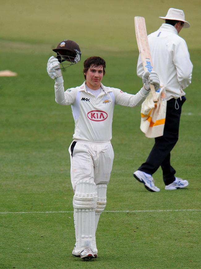 Shortlist: Rory Burns is up for the LV= County Championship Breakthrough player of the year