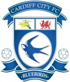 Wimbledon Guardian: Football Team Logo for Cardiff City