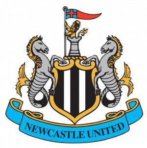 Wimbledon Guardian: Football Team Logo for Newcastle United