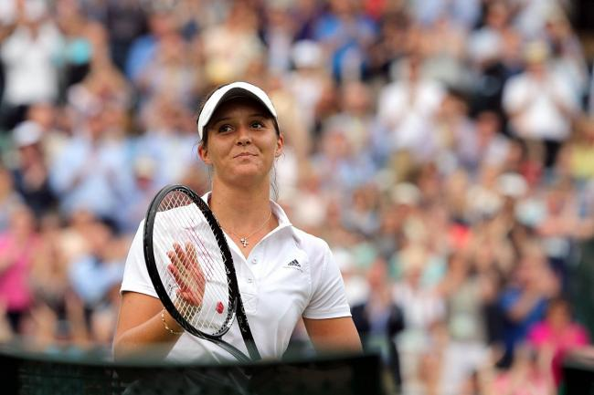 High expectations: Laura Robson