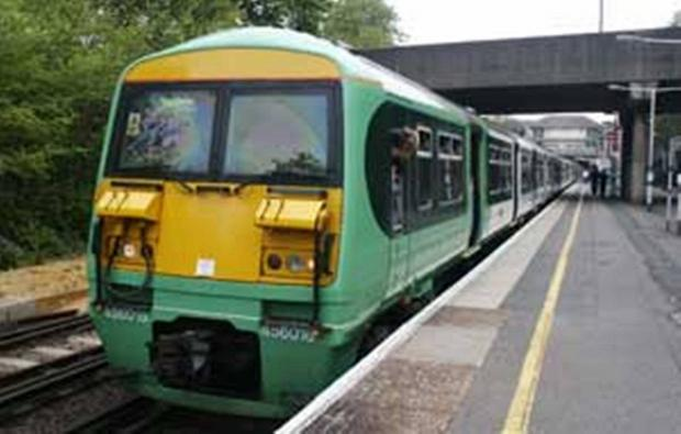 Southern trains are delayed this morning due to a power problem