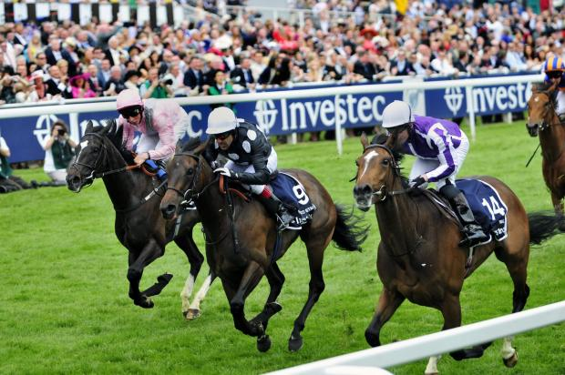 Wimbledon Guardian: Horse racing at the Epsom Derby in 2012
