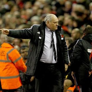 Martin Jol's Fulham are in the relegation zone