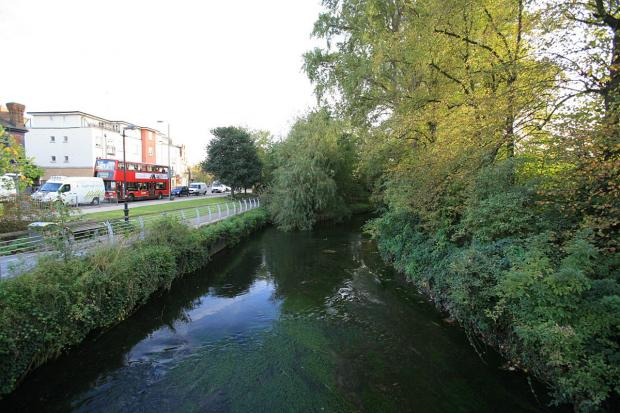 Property along the River Wandle could be at risk of flooding