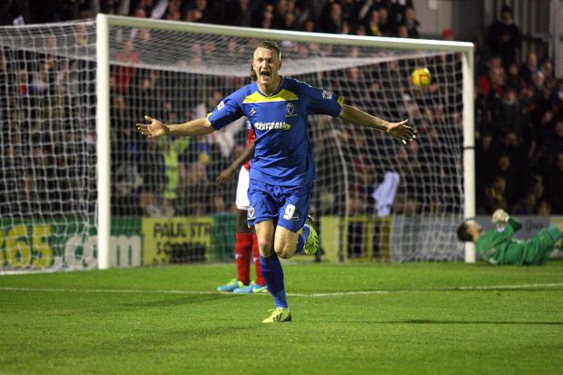 Wimbledon Guardian: Gone forever: Neal Ardley believes Michael Smith