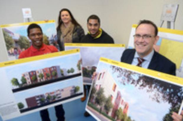 Residents view new housing plan for Mitcham
