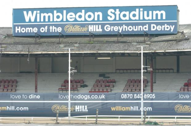 Wimbledon Guardian: Wimbledon greyhound stadium