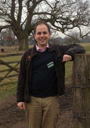 Ben Cowell, lecturer and a regional director of the National Trust