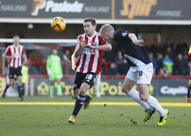 Here comes the judge: Brentford loan star Alan Judge has settled in well at Griffin Park, but more is to come
