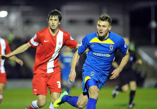 Extension: Charlie Wyke will be with AFC Wimbledon until April