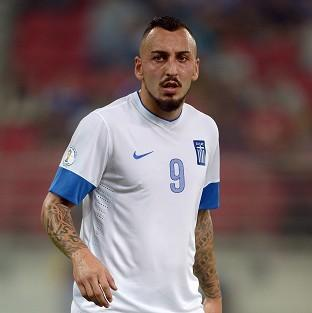 Kostas Mitroglou will play for Greece at the 2014 World Cup