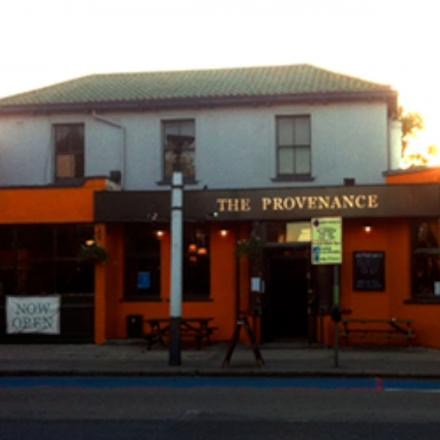 The Provenance is set to close
